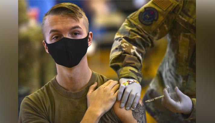 টিকা নিতে চান না মার্কিন সামরিক বাহিনীর এক তৃতীয়াংশ সদস্য